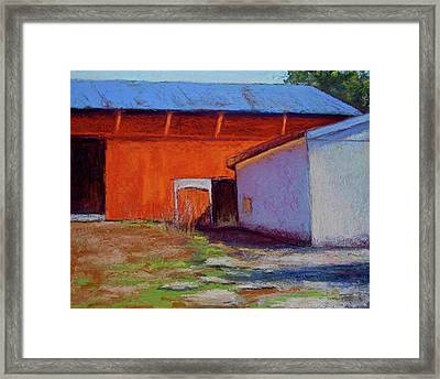 Campbell Farm Framed Print by Joyce A Guariglia