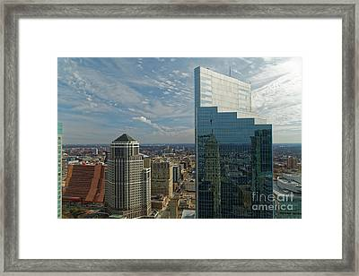 Campbell Mithun From The Foshay Framed Print by Natural Focal Point Photography