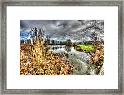 Campbell Park Milton Keynes Framed Print by KonTrasts