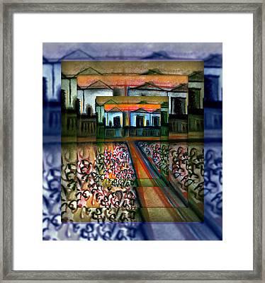 Campbellfield Factories 2 Framed Print by Joan Kamaru