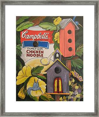 Campbell's Soup Can Recycle Framed Print