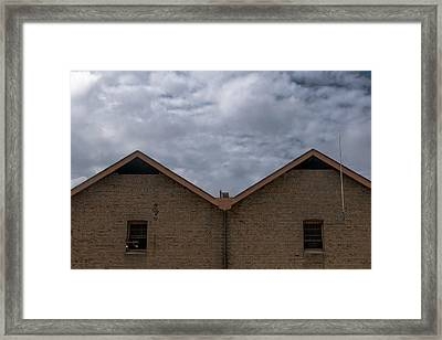 Campbell's Storehouses Framed Print
