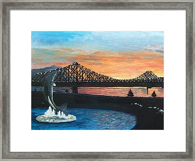 Campbellton New Brunswick Framed Print