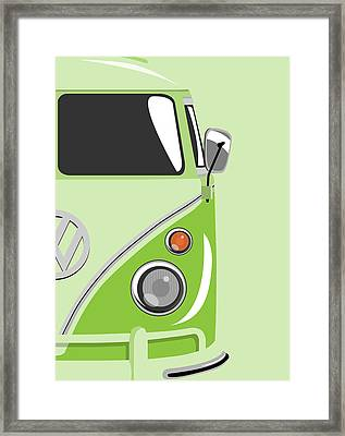 Camper Green 2 Framed Print