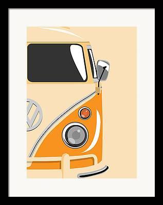 Volkswagen Framed Prints