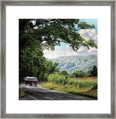 Camper Travels Framed Print