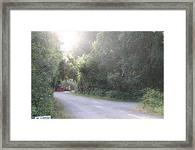 Campers Framed Print by Remegio Onia