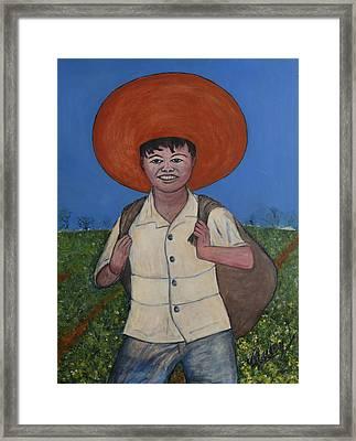 Campesino Framed Print