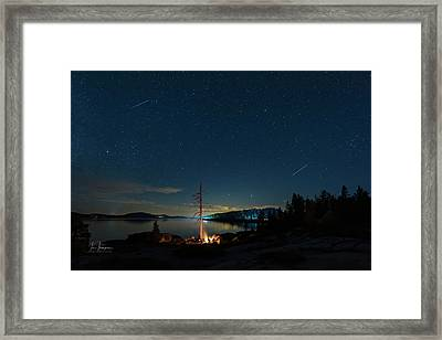Campfire 1 Framed Print