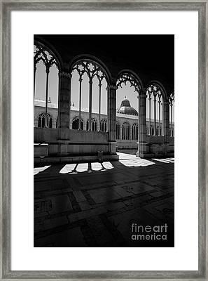 Camposanto Framed Print by Floyd Menezes