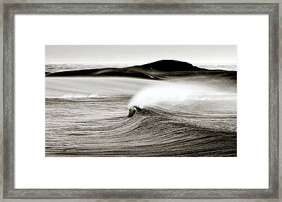 Camps Bay Wave Framed Print by Tim Booth