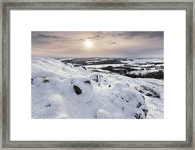 Campsie Fells 2 Framed Print by Rod McLean