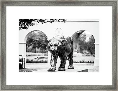 Campus Icon - Bw Framed Print