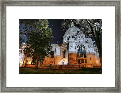 Campus Nights Framed Print by JC Findley