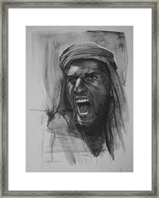 Can Anyone Speak Pashto Framed Print by Paul Autodore
