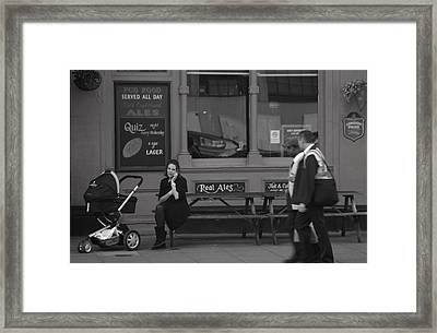 Can I Help You Framed Print by Jez C Self
