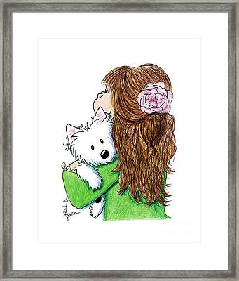 Can I Keep Him? Framed Print by Kim Niles