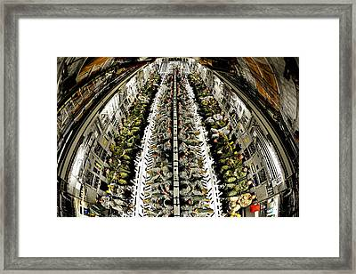 Can Of Whoopass Framed Print by JC Findley