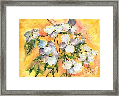 Can You Feel The Spring? Framed Print by Melly Terpening