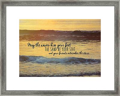 Can You Hear It? Framed Print by JAMART Photography