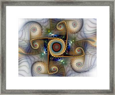 Can You Hear Me Framed Print by Karin Kuhlmann
