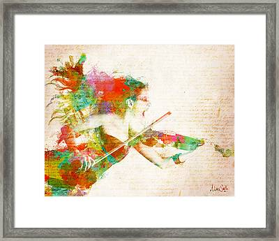 Can You Hear Me Now Framed Print by Nikki Smith