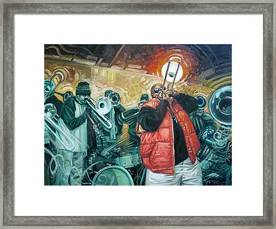 Can You Hear Us Lord Framed Print by Gregg Hinlicky