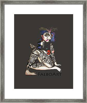 Can You See Me Know Framed Print by Anthony Falbo