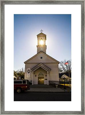 Can You See The Light? Framed Print