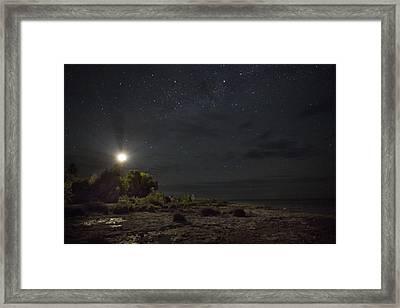 Cana At Night Framed Print