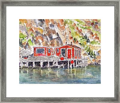 Canada 150 Newfoundland Labrador Framed Print
