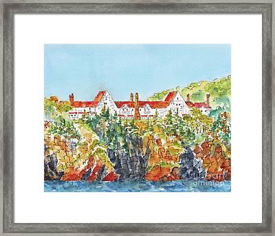 Canada 150 Nova Scotia Framed Print