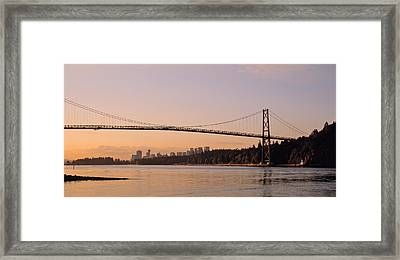 Canada, British Columbia, Vancouver Framed Print by Panoramic Images