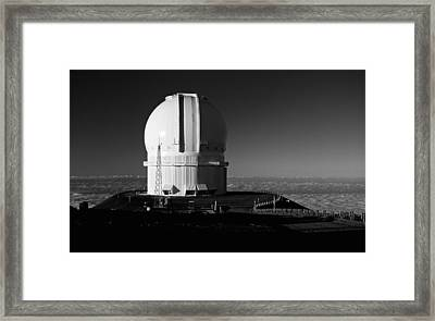 Framed Print featuring the photograph Canada France Hawaii Telescope 1 by Gary Cloud