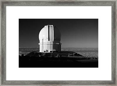 Canada France Hawaii Telescope 1 Framed Print by Gary Cloud