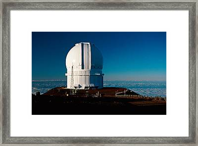 Framed Print featuring the photograph Canada France Hawaii Telescope 2 by Gary Cloud
