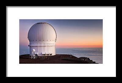 Canada-france-hawaii Telescope Framed Prints