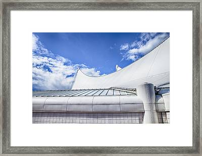 Canada Place Sails Framed Print by Theresa Tahara