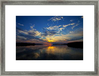 Canada Your's To Discover Framed Print