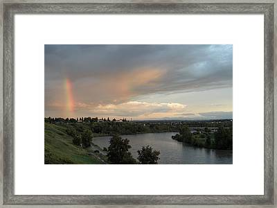 Canadian Beauty Framed Print by Mark Lehar