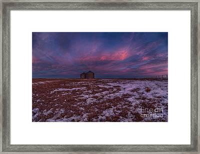 Canadian Dawn Framed Print
