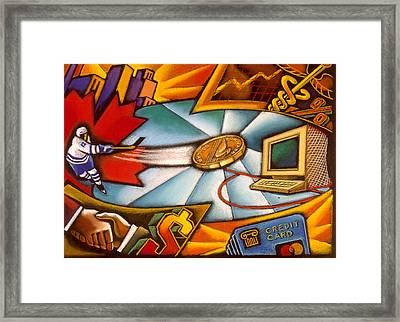 Canadian Economy  Framed Print