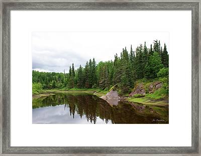 Canadian Landscape Framed Print by Joanne Smoley