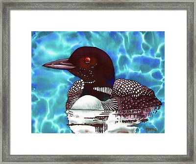 Canadian Loon Framed Print