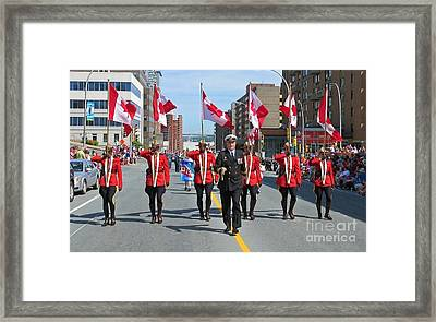 Canadian Pride Framed Print