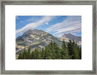 Canadian Rockies Near Kicking Horse Pass Framed Print