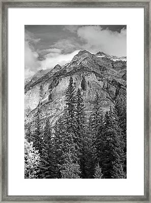 Canadian Rockies No. 2-2 Framed Print