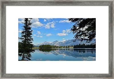 Canadian Rockies No. 4-1 Framed Print