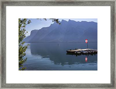 Canadian Serenity Framed Print by Angela A Stanton
