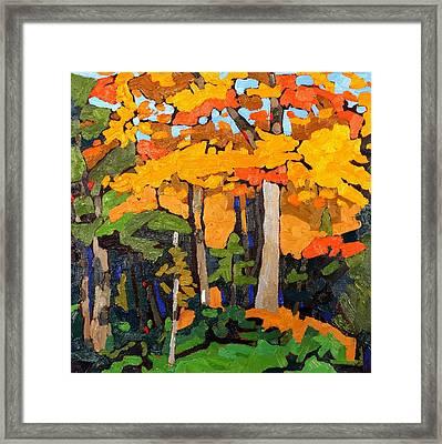 Canadian Thanksgiving Framed Print